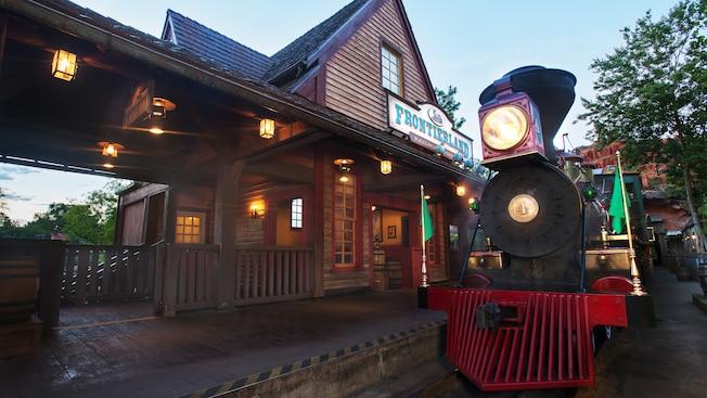 Walt Disney World Railroad at Frontierland | Walt Disney ...