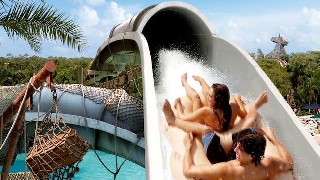 Crush N Gusher Typhoon Lagoon Attractions Walt Disney World Resort