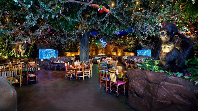 Rainforest Cafe Menu Edison Nj