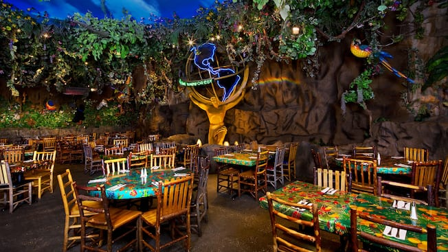 Rainforest Cafe Orlando Hours