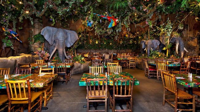 Rainforest Cafe Disney World Downtown