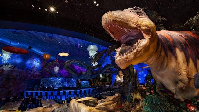 T rex restaurant walt disney world resort for Restaurant t rex