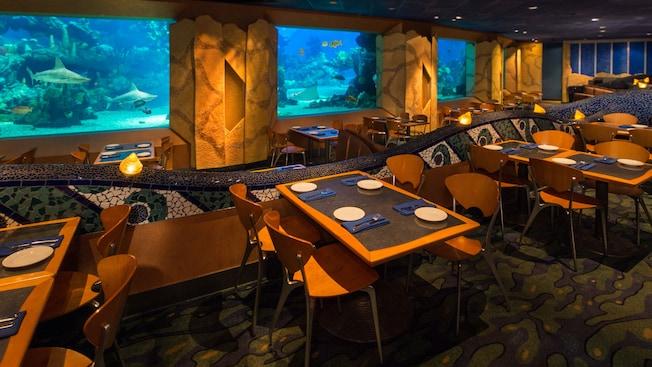 Coral Reef Restaurant Walt Disney World Resort
