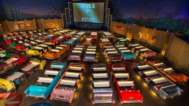 Sci Fi Dine In Theater Restaurant Walt Disney World Resort