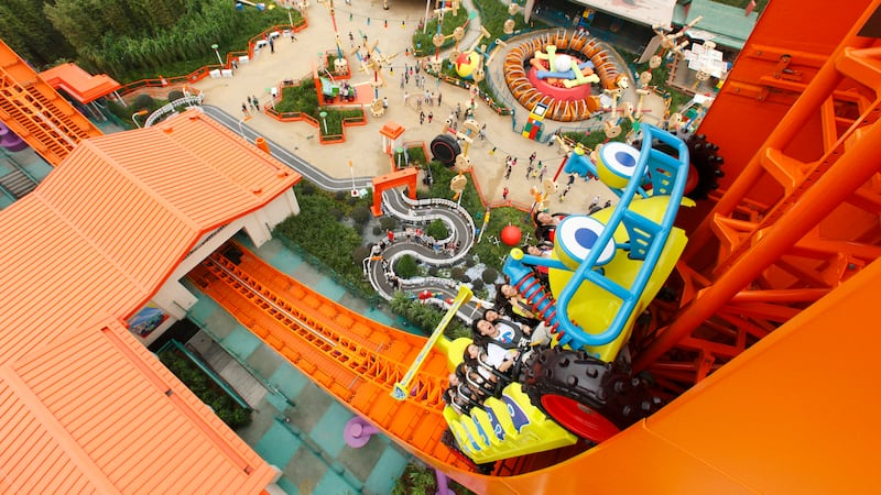 Rc Racer Attractions Hong Kong Disneyland Resort