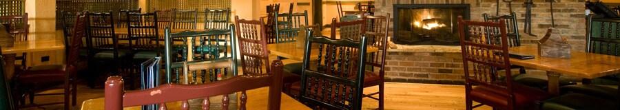 Área de refeições do Boatwright's Dining Hall