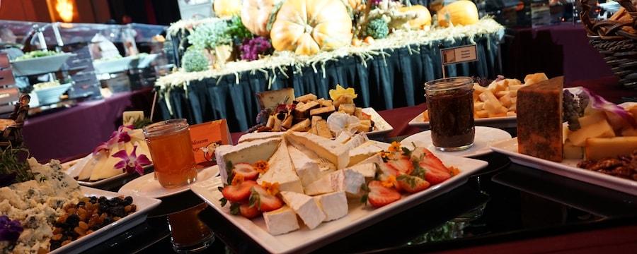 Thanksgiving at Disneyland buffet