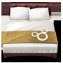 Um ícone de uma cama