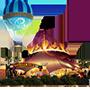 Ícone da tenda do Cirque du Soleil