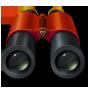 Un icono de binoculares