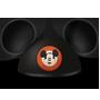 Une icône en forme d'oreilles de Mickey