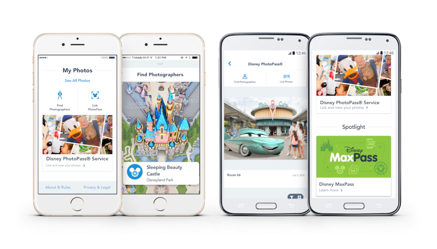 Disneyland mobile app disneyland resort see attraction wait times for disneyland park and disney california adventure park at a glance gumiabroncs Image collections