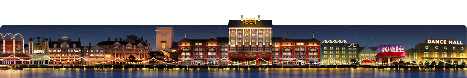 Secteur Disney's BoardWalk